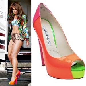 Brian Atwood colorful heels